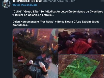 Tres jóvenes víctimas del cártel CJNG son abandonados en carretera — México